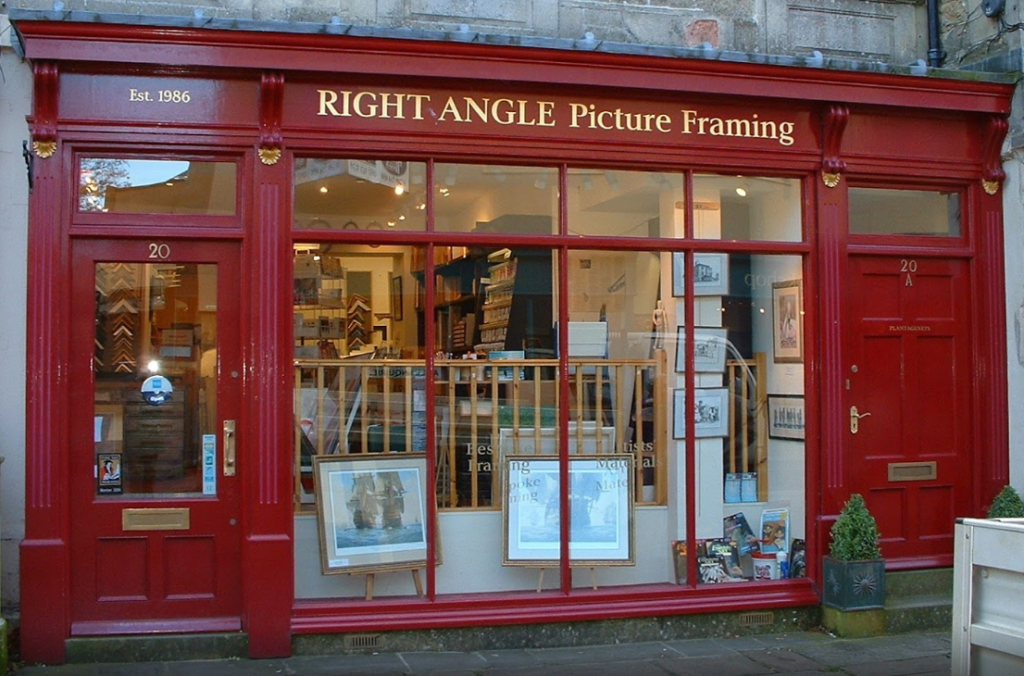 Right Angle Picture Framing storefront